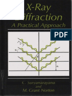 X-ray Diffraction a Practical