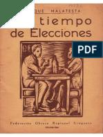 En Tiempo de Elecciones Errico Malatesta