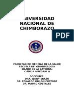 Clinica Integral II