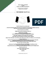 October Members Manual