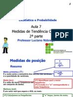 PDF Aula 7 Medidas de Tendencia Central 2a Parte