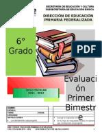 Examen 1er Bim 6to 12-13