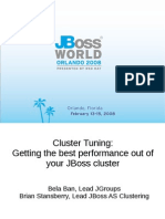 JBOSS 1-150pm ClusterTuning Bela Ban