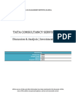 Tata Consultancy Services IPO Analysis
