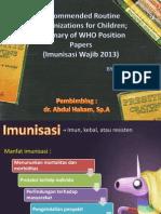 Ppt Imunisasi Dasar Terbaru - Pentavalen