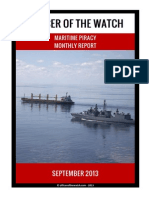 OOW - Piracy Monthly Report 2013.09