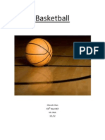 Basketball Unit Paper