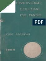 Marins, Jose - La Comunidad Eclesial de Base (2)
