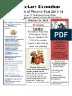 Bulletin 10.24.2013