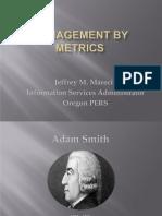 ORDGS13 Management by Metrics - Jeffrey M. Marecic
