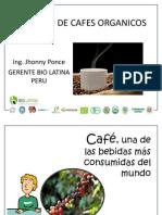 Mercado de Cafes Organicos Johnny Ponce Biolatina