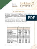 Analisis Horizontal y Vertical
