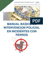 Manual Basico Intervenciones Policiales Perros