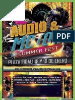 Audio Motor Summer Fest Patrocinadores