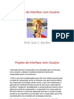 Projeto Interface Usuario
