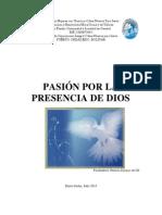 PASIÓN POR LA PRESENCIA DE DIOS