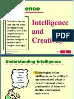 (Psychology) (English Pps) Intelligence and Creativity