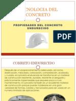 Prop Del Concreto Endurecido III Tema