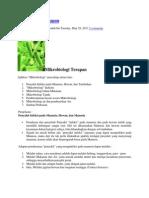 Mikrobiologi Terapan
