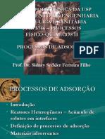 Aulas 2 e 3 - Processos de Adsorção