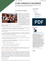 ADMINISTRAÇÃO DE CARGOS E SALÁRIOS_ Passos para a implantação de um Plano de Cargos e Salários