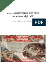 21 El renacimiento científico durante el siglo XVII