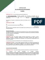 3- Artículos 101 al 106 del Estatuto del Docente