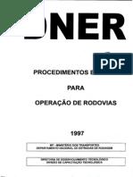 Procedimento Basico Para Operacao de Rodovias