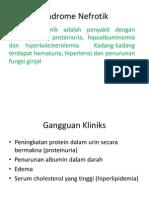 Sindrome Nefrotik ppt