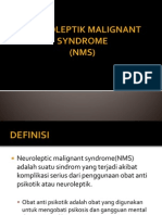 Neuroleptik Malignant Syndrome