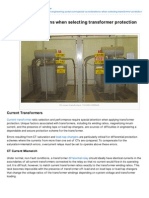 Electrical-Engineering-portal.com-Special Considerations When Selecting Transformer Protection