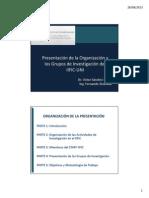 Presentación GI Estructuras IIFIC 27-8-2013