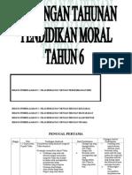 Rancangan Tahunan p.moral Tahun 6