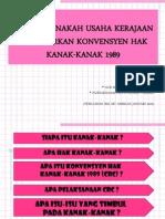 EDU 3109 - KONVENSYEN HAK KANAK-KANAK
