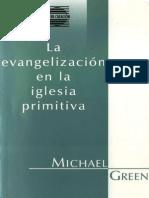 La Evangelizacion en La Iglesia Primitiva - Michael Green Subrayado