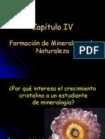 Formación de Minerales en la Naturaleza_Capítulo IV