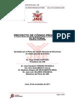 Código Electoral Procesal (JNE 2011)