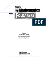 math-foldables