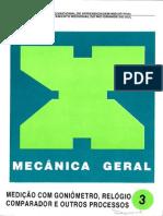 Senai - Mecânica Geral_3_Medição com goniômetro, relógio comparad