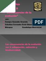 Las consecuencias de la evolución Definitivo