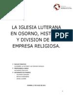La Iglesia Luterana en Osorno