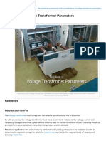 Electrical-Engineering-portal.com-Definitions of Voltage Transformer Parameters