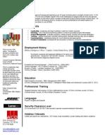 Resume Summary 2.0