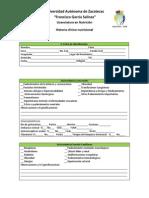 Historia Clinico Nutricional