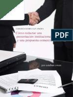 Como Redactar Una Presentacion Institucional y Una Propuesta Comercial Efectiva