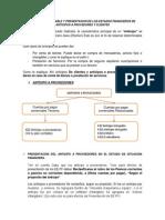 Anticipo a Proveedores y Clientes - Fuente Jerson Chavez