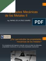 Propiedades Mecánicas de los Metales II