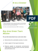Leading Youth to a Greener Future! Bay Area Green Tours Educational Tours Presentation