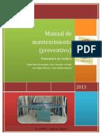 Manual Administrativo de Mantenimiento