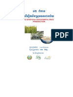 12 Steps for Succesfull Rice Production